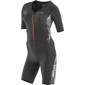 ORCA 226 Kompress Aero Race Suit Dames, orange-black